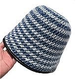 Sombrero de Cubo de Felpa Sombrero de Pescador Retro Europeo y Americano Moda otoño e Invierno Sombrero de Lavabo cálido