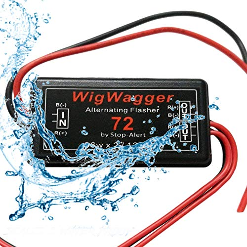 1X Third Brake light Flasher 60 Watts LED /& Incandescent Flash Strobe Safe Alert