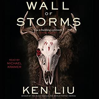 The Wall of Storms audiobook cover art