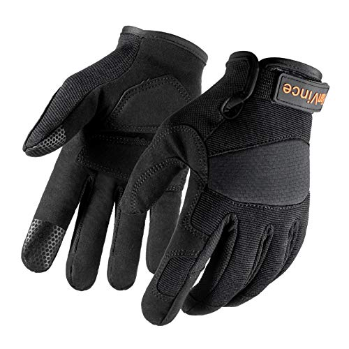Mechanic Gloves Tactical Work Glove for Men Medium