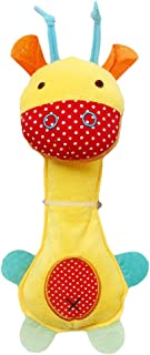 Anniston Kids Toys, Plush Giraffe Animal Doll Baby Hand Rattle Graping BB Stick Educational Toy Baby Toys for Children Tod...