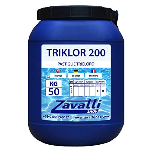 Tri Cloro tabletas para piscina - 50 Kg tricloro