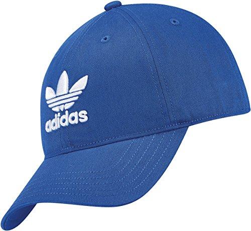 adidas Trefoil Gorra de Tenis, Hombre, Azul, OSFM