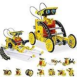 CCCYT Juguete Robot Stem para niños, 12 en 1 Robots Kit de Ciencia Divertido Juego Creativo y DIY Juguetes, Manualidades Regalos para niños de 8 a 14 años