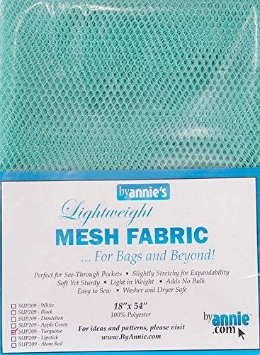 byannie sup209de Turq Lightweight Mesh Fabric, 18x 54Pulgadas Aprox. 45,7x 137cm Red plástico, 100Percent poliéster, Turquesa, 28x 20x 1cm
