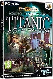 Hidden Mysteries Titanic: Secrets of the Fateful Voyage (PC DVD) [Importación inglesa]