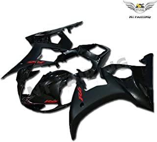 NT FAIRING Glossy Matte Black Black Injection Mold Fairing Fit for Yamaha YZF 2003-2005 R6 & 2006-2009 R6S New Painted Kit ABS Plastic Motorcycle Bodywork Aftermarket