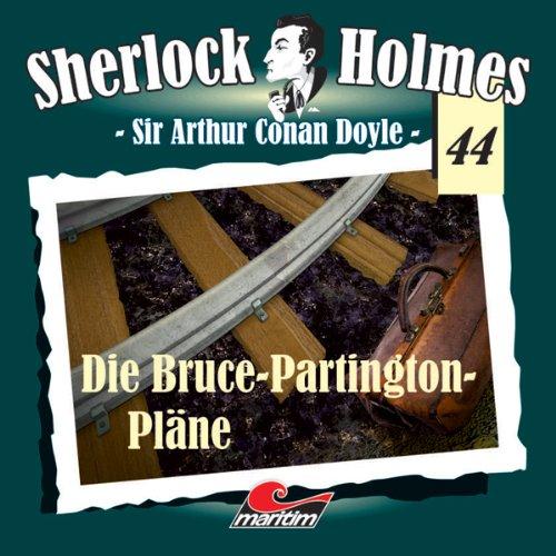 Die Bruce Partington Pläne (Sherlock Holmes 44) Titelbild