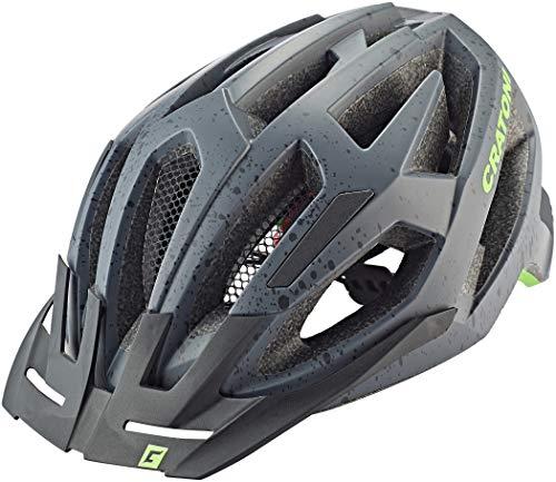 Cratoni - Casco Flash para Bicicleta de montaña (Talla L/XL), Color Verde...