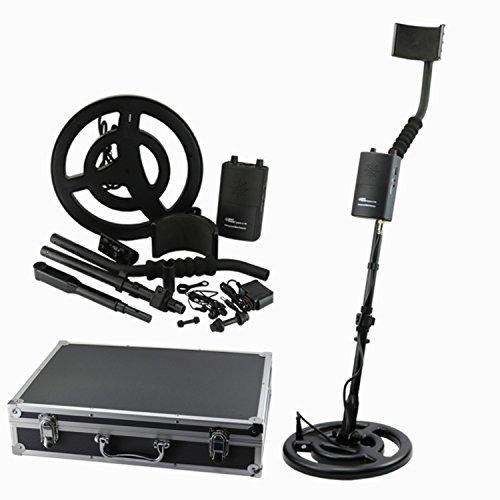 Range Probador Digital Detector de Metales, buscador de Oro subterráneo Treasure Hunter 3m de Profundidad AS944 for Detector de Metales de Monedas de Plata y Pepita de Oro