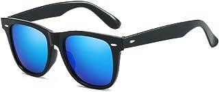 iCaptainAB Unisex Classic Retro Design Sunglasses The Square Style Frame UV400 Protection