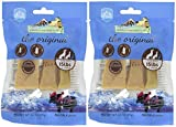 Himalayan Dog Chew 2 Pack of Dog Treats Made of Yak Milk, Small, 3.5-Ounce Per Pack