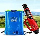 Mochila de 20L Pulverizador de nebulizador eléctrico Asesino de mosquitos con batería de litio,...