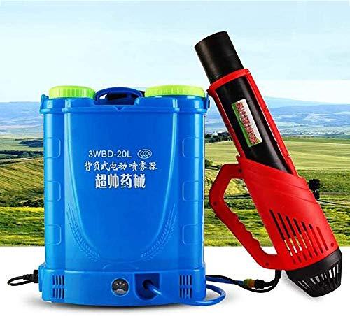 Mochila de 20L Pulverizador de nebulizador eléctrico Asesino de mosquitos con batería de litio, para interiores, exteriores, lugares públicos, desinfección, agricultura, oficina e industrial,1