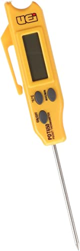 UEi Test Instruments PDT650 Folding Pocket Digital Thermometer,Yellow