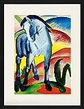 1art1 Franz Marc - Blaues Pferd I, 1911 Gerahmtes Bild Mit