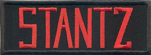 Ghostbusters nametag Stantz Uniforme Disfraz Insignia Hierro en Patch Insignia