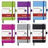 Brunnen Notizbuch A7 Kompagnon Trend liniert 9,5x12,8 farbiger Einband 10-55217 Farbe violett