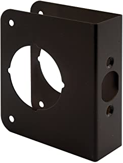Defender Security U 10744 Door Guard 1-3/8-Inch Thick by 2-3/8-Inch Backset 2-1/8-Inch Bore, Solid Brass, Bronze