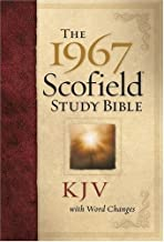 The 1967 Scofield® Study Bible, KJV, with Word Changes