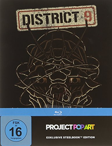 District 9 - SteelBook PopArt [Blu-ray]