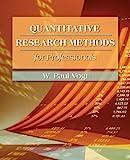 Quantitative Research Methods for Professionals