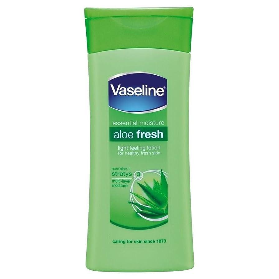 写真制裁グラフィックVaseline Intensive Care Aloe Fresh Body Lotion (200ml) ワセリン集中治療アロエフレッシュボディローション( 200ミリリットル)