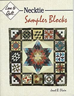 Necktie Sampler Blocks (Love to Quilt)