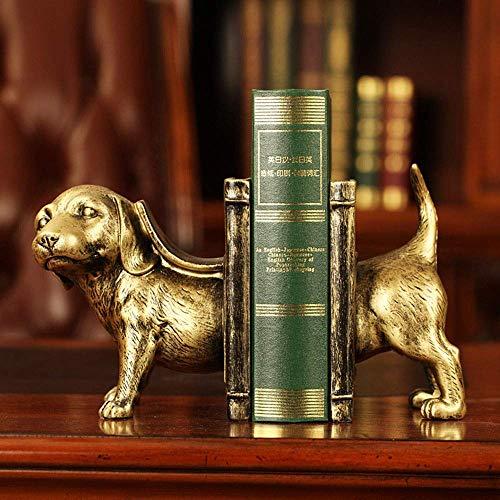 XLL boekensteunen voor bibliotheek van dieren, retro kunst, creatieve boekensteunen met kantoren, antieke decoratie voor de veiligheid van de bibliotheek