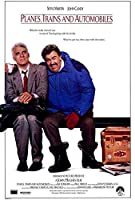 Planes , Trains and automobile映画ポスター27x 40スティーブ・マーティン、ジョン・キャンディ、A、Made in the U。S。A。