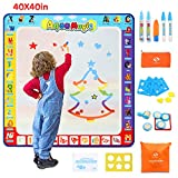 Fansteck Water Doodle Mat, Large Water Drawing Mat 40X40 inch, No...