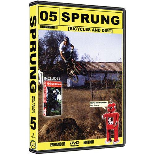 Sprung 5 & Sprung 4 Mountain Bike & BMX DVD