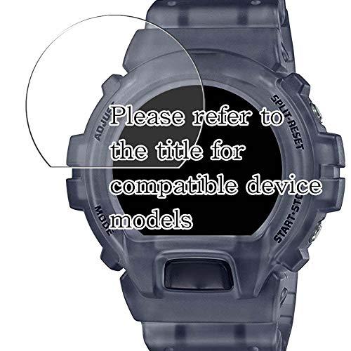 VacFun 3 Pezzi Trasparente Pellicola Protettiva Compatibile con CASIO G-Shock GD-X6900MC-1JR GDX6900MC Series (Non Vetro Temperato) Screen Protector Senza Bolle Protezioni Schermo