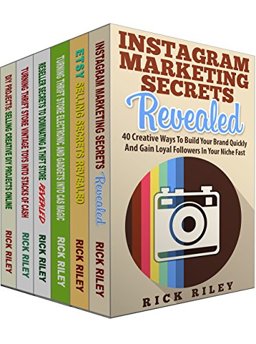 Amazon Com How To Sell On Etsy Ebay And Instagram Marketing Secrets 6 Manuscripts Learn The Secrets To Grow Your Business On Ebay Etsy And Instragram How To Marketing Make Money Online