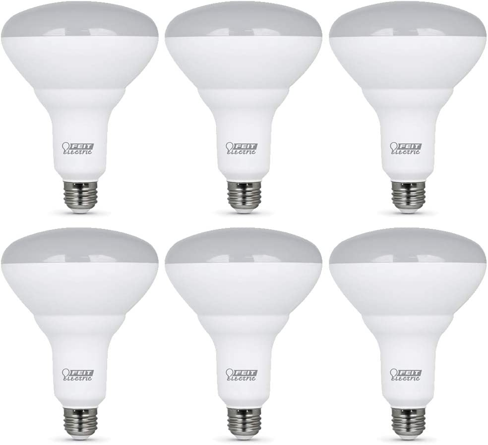 Feit Electric BR40DM 10KLED 2 Dimmable 65W-Equivalent Watt 3 New color 13 half