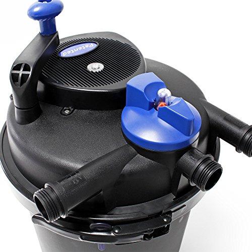 SunSun CPF-5000 Druckteichfilter UVC 11 W 9000 L/h Teich Filter Teichfilter - 5
