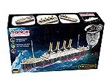 TRONICO Titanic Schiff Modellbau Metallbaukasten Konstruktionsspielzeug Mint STEM Modellbau Bauen mit Werkzeug