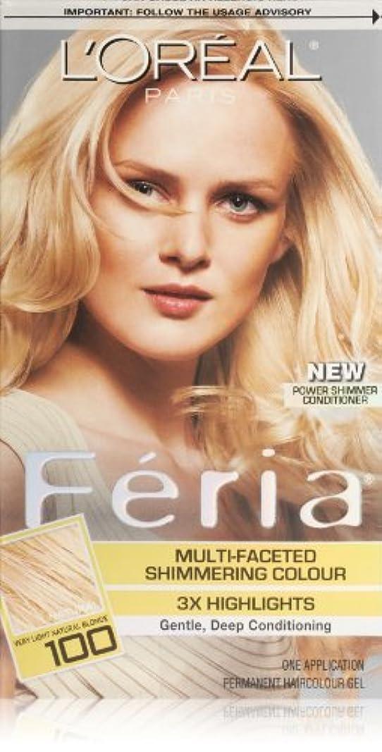 夜間記事患者Feria Pure Diamond by L'Oreal Paris Hair Color [並行輸入品]
