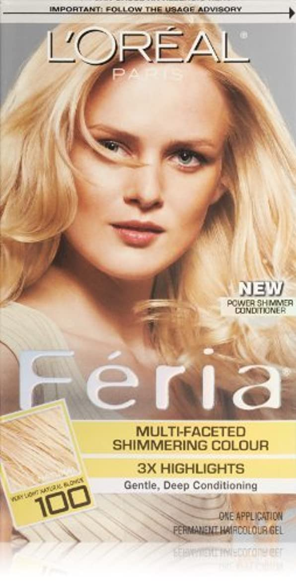 発明難破船フォアマンFeria Pure Diamond by L'Oreal Paris Hair Color [並行輸入品]