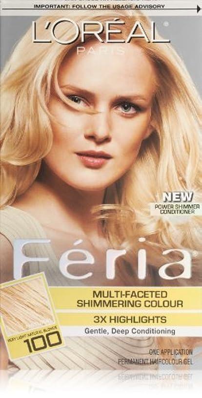 極小ソフィー応答Feria Pure Diamond by L'Oreal Paris Hair Color [並行輸入品]