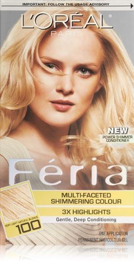 開拓者自伝差し引くFeria Pure Diamond by L'Oreal Paris Hair Color [並行輸入品]