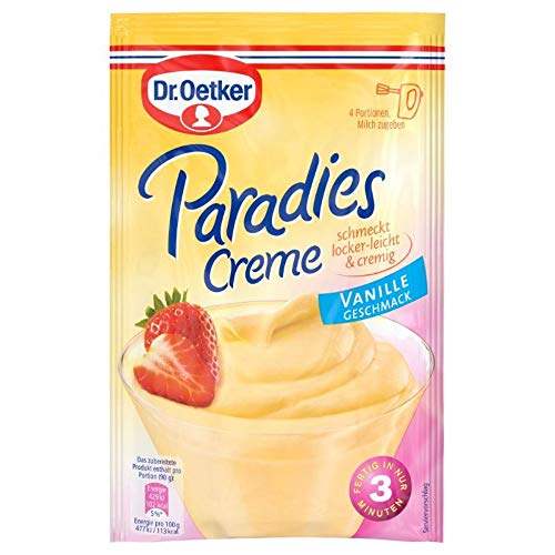 Dr. Oetker Paradies Creme Vanille-Geschmack, 60 g