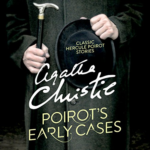 Poirot's Early Cases audiobook cover art