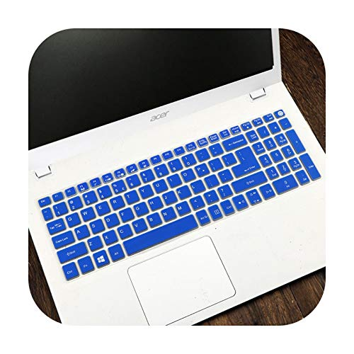 Keyboard Cover For Macbook Air 13 Pro 15 Accessories US English letter Keyboard Protector Stickers A1466 A1369 A1502 A1286 A1398-Blue