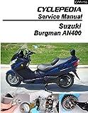 2003-2006 Suzuki AN400 Burgman Service Manual (English Edition)