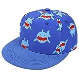 Yixda Berretto da baseball per bambini, cappello da baseball per ragazzi e ragazze squalo 2-4 Anni