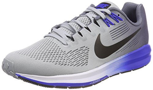 Nike Air Zoom Structure 21, Zapatillas de Cross para Hombre, Multicolor (Wolf Grey/Black-Ligh 003), 41 EU