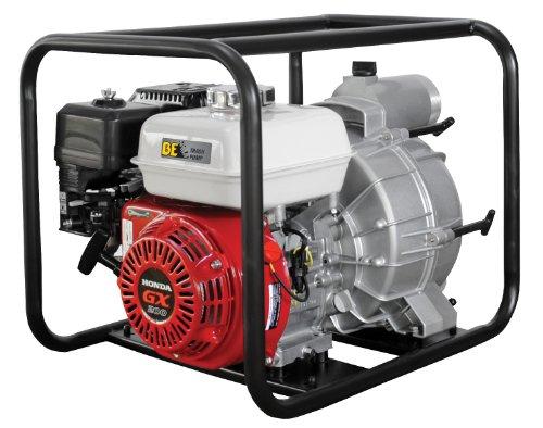"""B E Pressure TP-3065HR Trash Pump, 3"""", GX200, 264 GPM, 6.5 HP"""