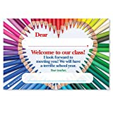 WELCOME YOUR NEW CLASS with this heartfelt, colorful Positive Postcard to start the new school year on a positive note for your students. REMOTE LEARNING possibilities mean new ways to connect with students and families. Start right with this positiv...