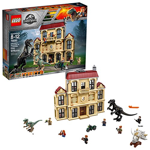 LEGO Jurassic World Indoraptor Rampage at Lockwood Estate 75930 Popular Building Kit, Best Fallen...
